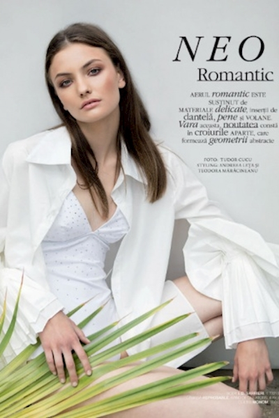 Paula Cioltean editorial Marie Claire Romania June 2018
