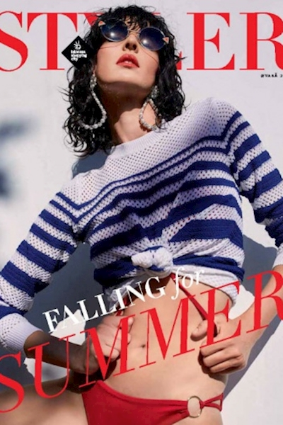 Anca Tiribeja cover & editorial Styler Magazine summer edition 2018
