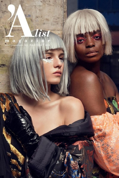Mara cover & editorial A list Magazine December 2019